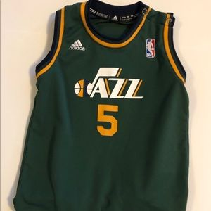 2 year old Jazz jersey